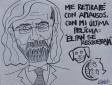 """El """"político"""" que hasta artista ya se siente."""