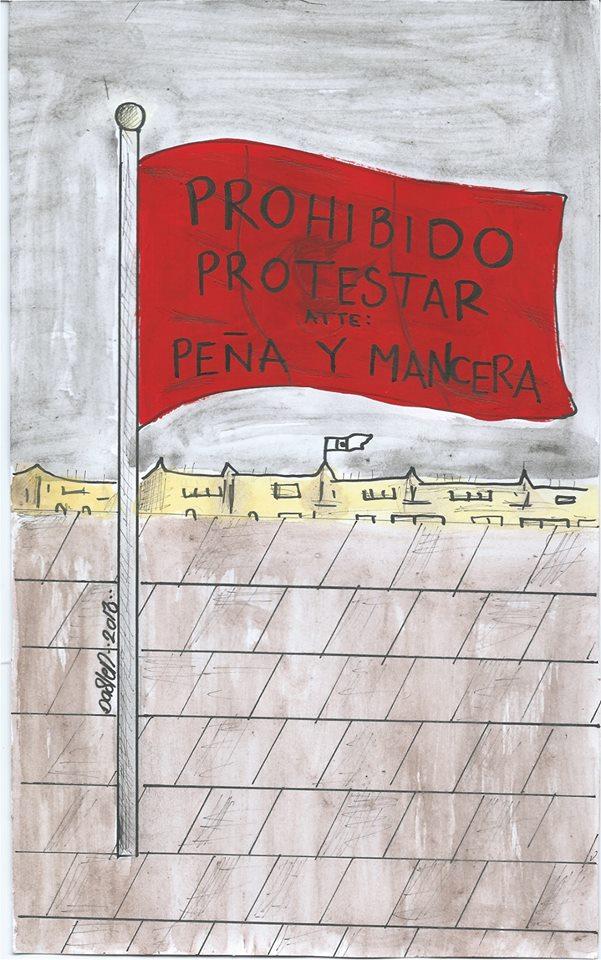 Prohibido protestar