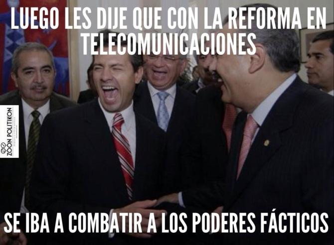 Ley Telecom meme