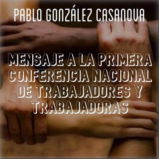 González Casanova Mensaje