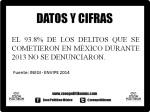 Datos y cifras (Denuncia méxico 2014)