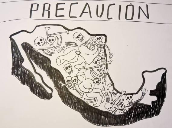 Una fosa llamada México, de F. Carolina Ibaladi
