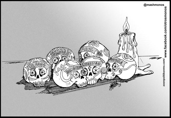 Amargas calaveritas, de Mash