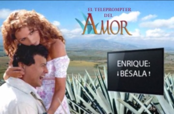 El teleprompter del amor