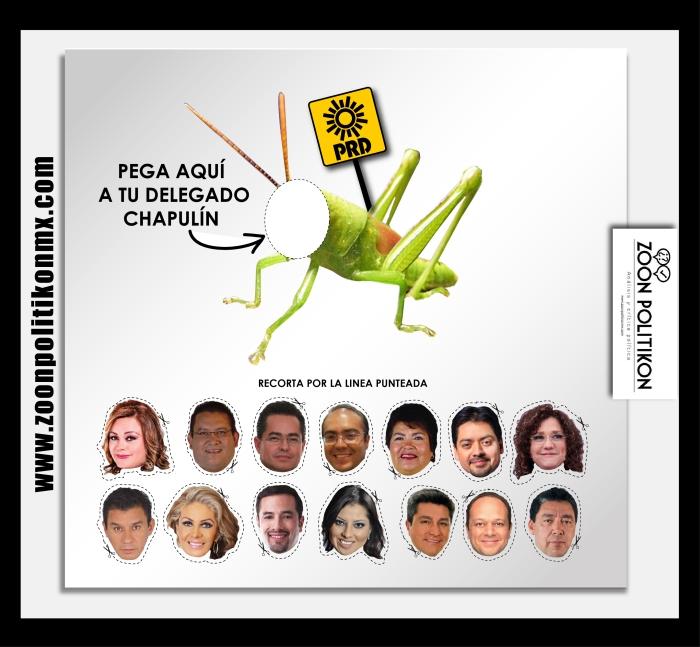 Juego didáctico delegacional, de Sandra Sánchez Rodea