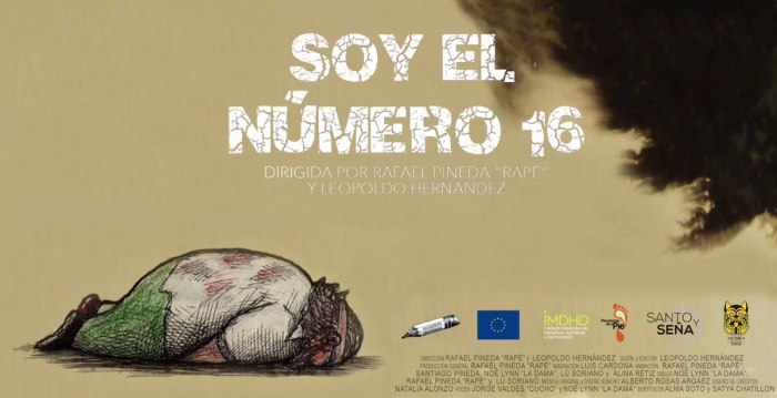 Soy el número 16, del Colectivo Sácalepunta